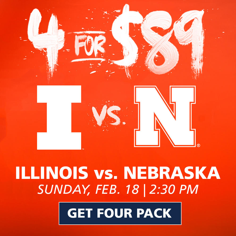 Illinois Basketball Four Pack